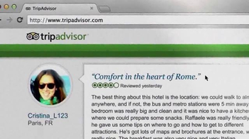 Trip Advisor TV Spot, 'Don't Just Visit Rome' - Thumbnail 10