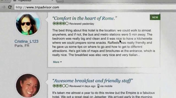 Trip Advisor TV Spot, 'Don't Just Visit Rome' - Thumbnail 9