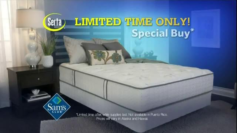 Sam s Club TV Spot Mattress Delivery iSpot