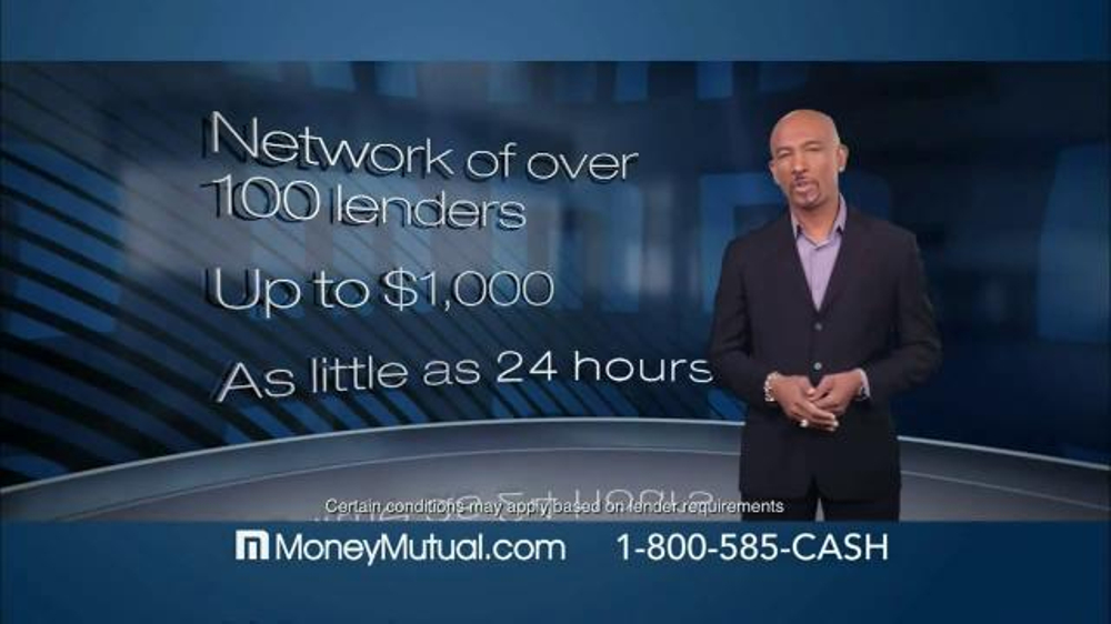Money Mutual TV Commercial, 39;Time Flies39; Featuring Montel Williams