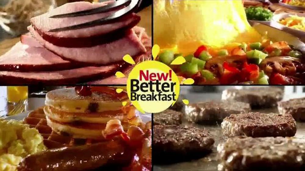 Golden Corral TV Commercial, '$7.99 Better Breakfast ...