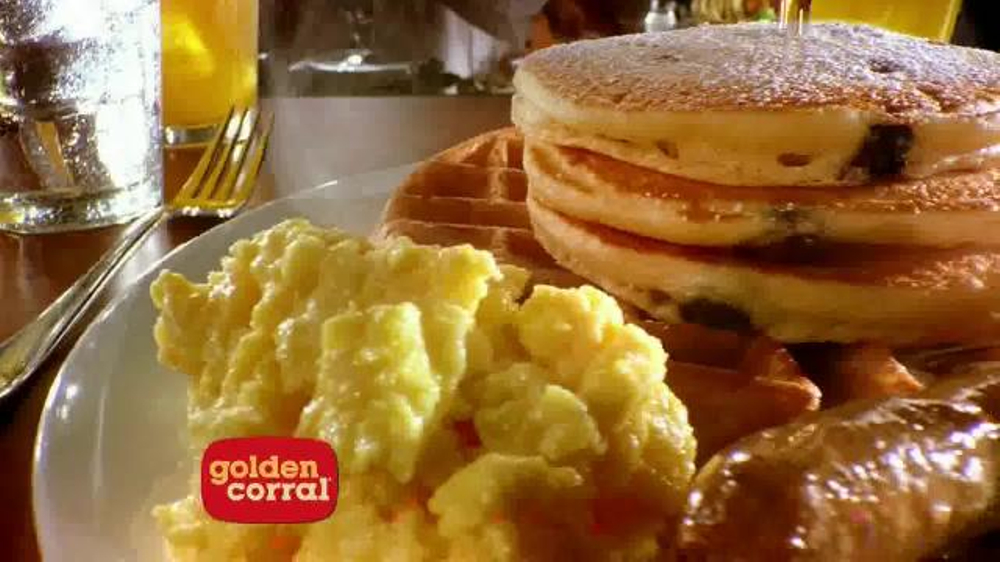 The weekend is the perfect time for the Golden Corral breakfast hours to be really taken advantage of.Served during Saturdays and Sundays, you can get as much as you can fit onto you plate with the breakfast buffet, which features a plethora of amazing breakfast foods that come in hot and cold, as well sweet and savory too.