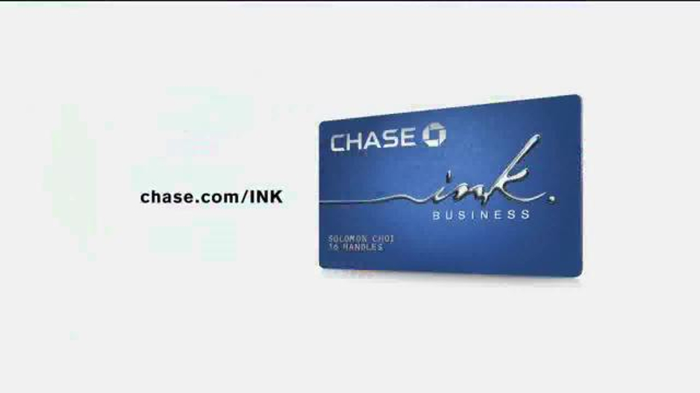 Chase Ink TV mercial 16 Handles iSpot