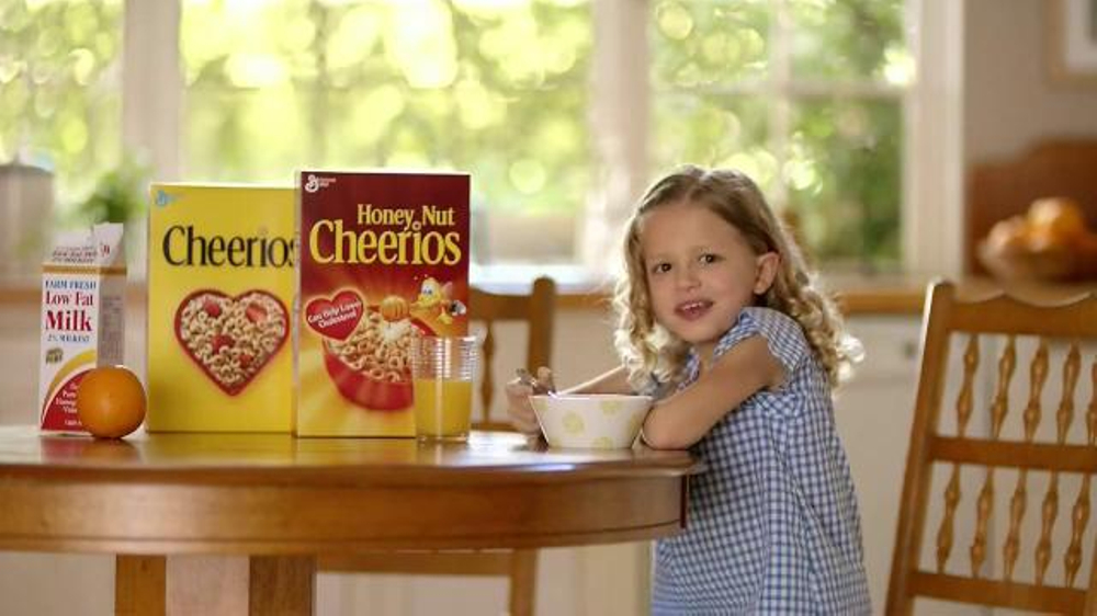 How to write a commercial for cereal