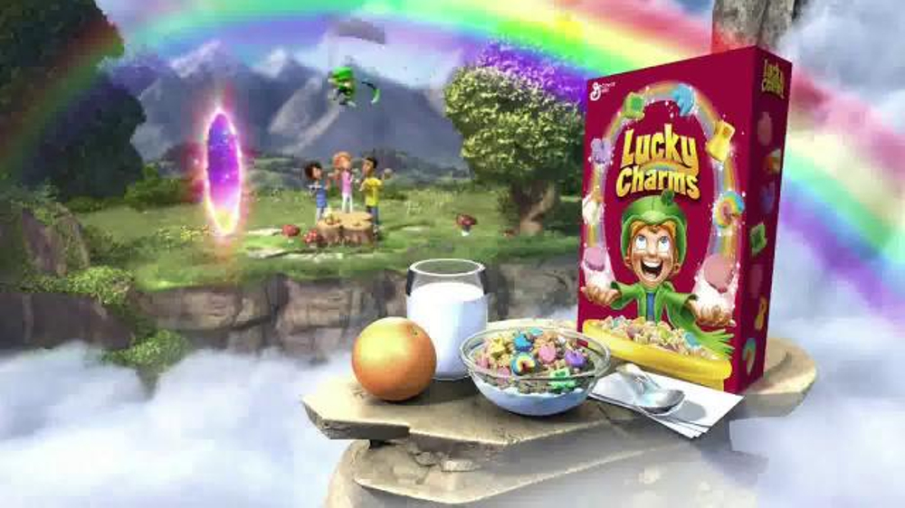lucky charms tv commercial ispot tv