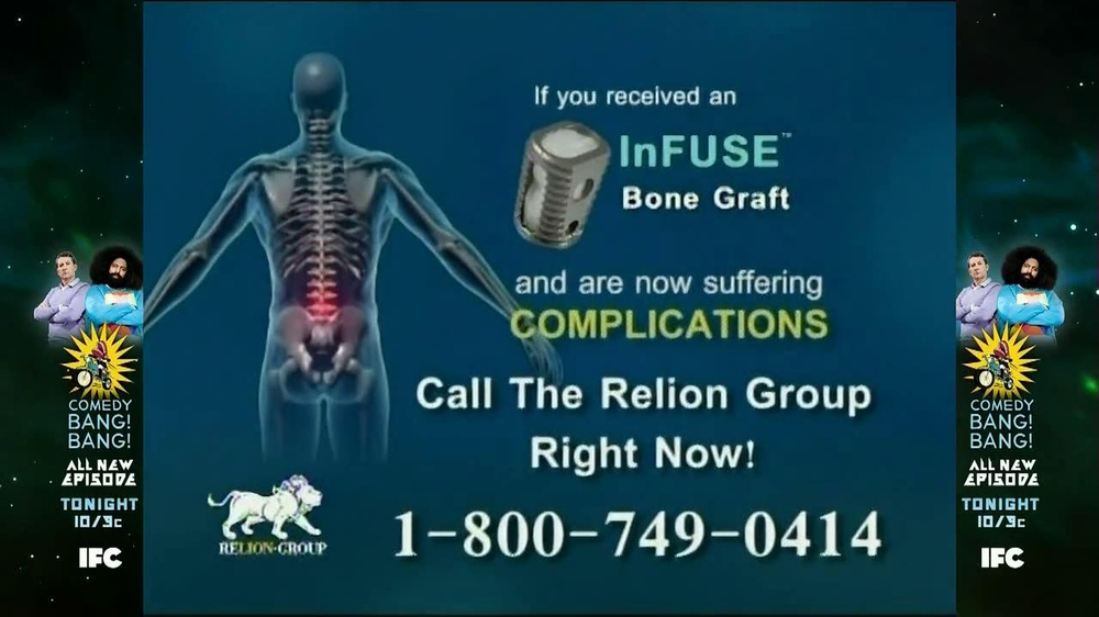 Relion Group TV Spot, 'Bone Graft' - Screenshot 3