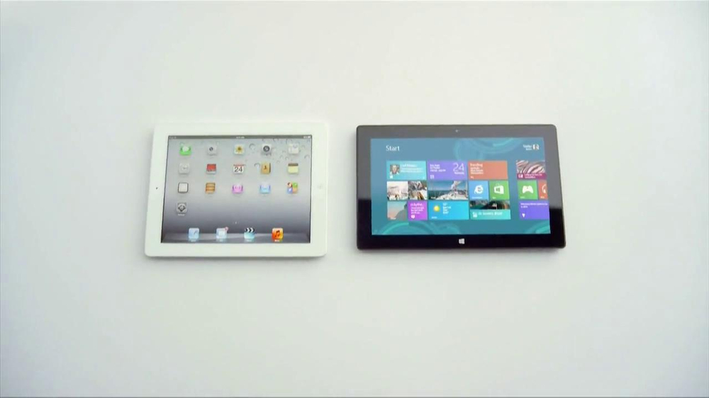 Microsoft Surface TV Spot, 'Siri' - Screenshot 2