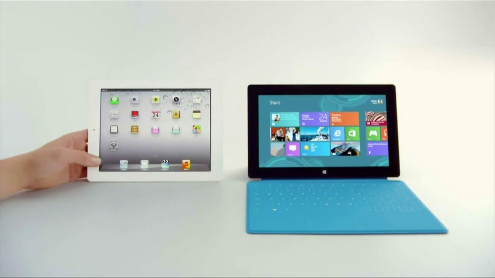 Microsoft Surface TV Spot, 'Siri' - Screenshot 8