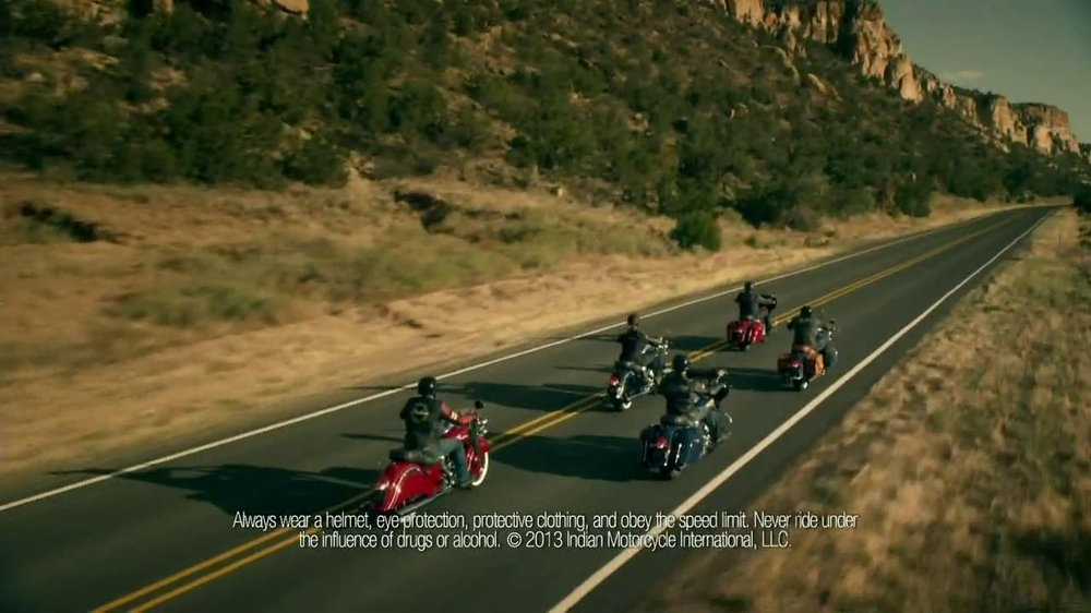 2014 Indian Chief Motorcycle TV Spot, 'Stop' - Screenshot 2