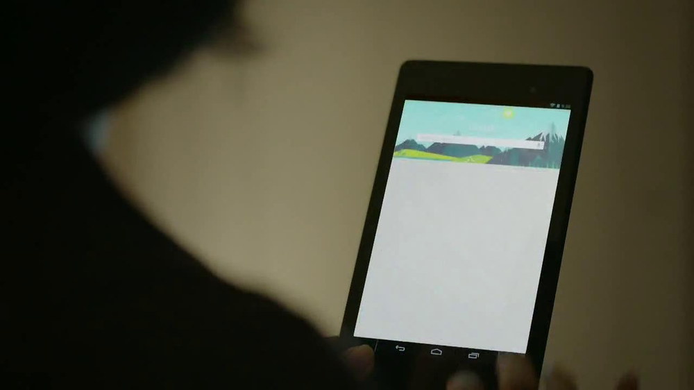 Google Nexus 7 TV Spot, 'Speech' - Screenshot 6