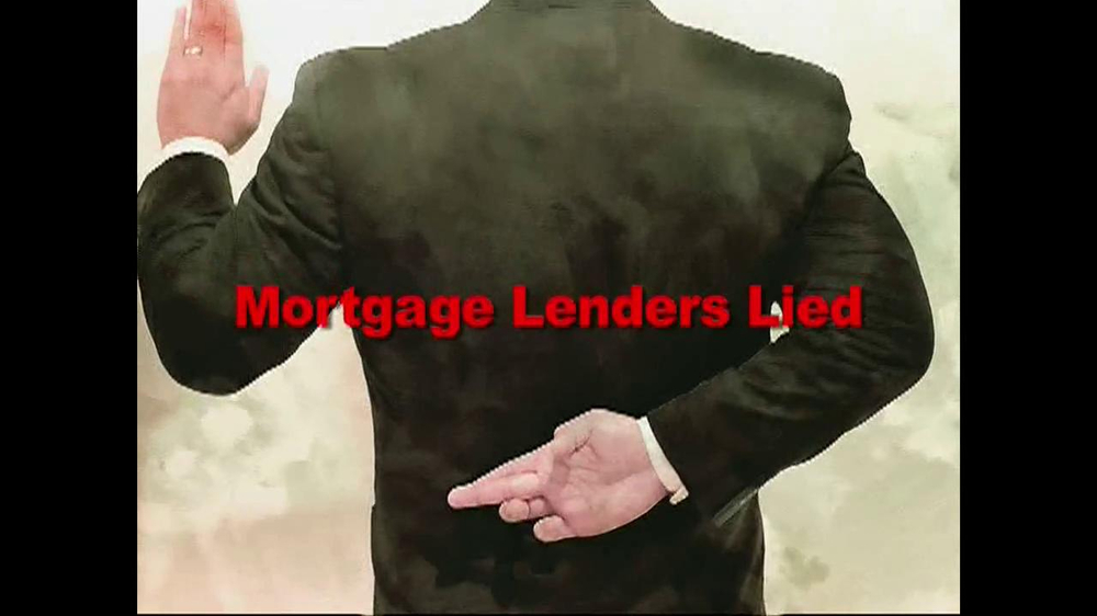 Mortgage Lawsuit Network TV Spot - Screenshot 1