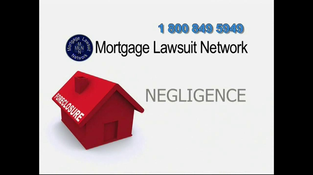 Mortgage Lawsuit Network TV Spot - Screenshot 4
