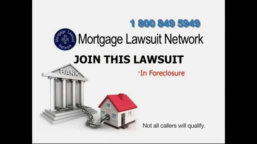 Mortgage Lawsuit Network TV Spot - Screenshot 5