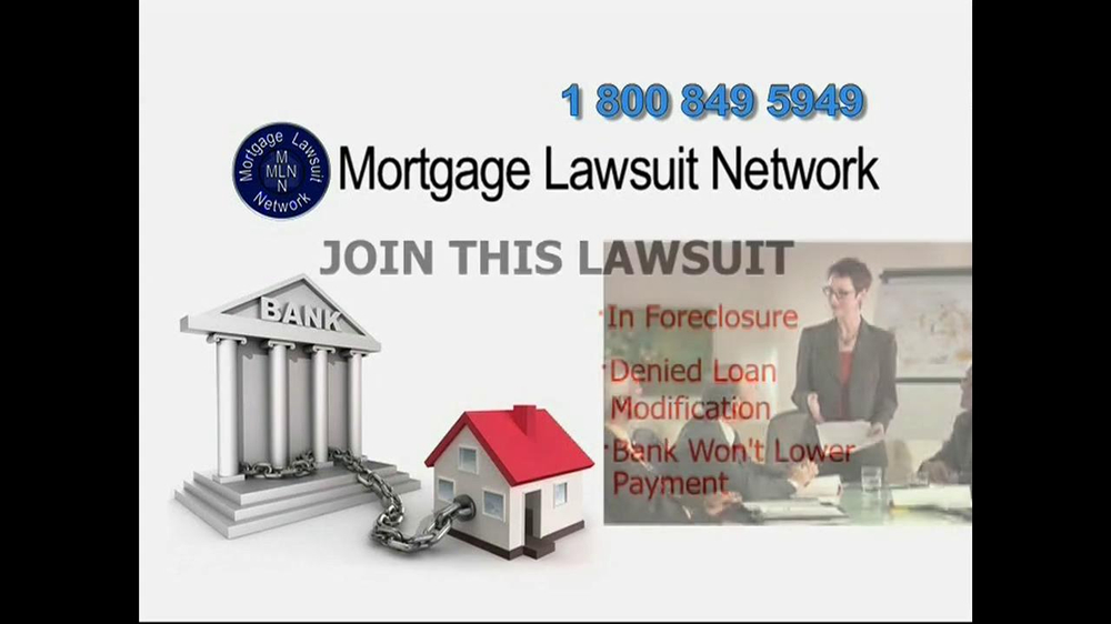 Mortgage Lawsuit Network TV Spot - Screenshot 6