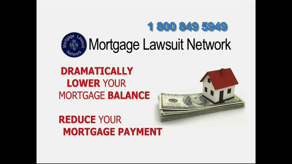 Mortgage Lawsuit Network TV Spot - Screenshot 7