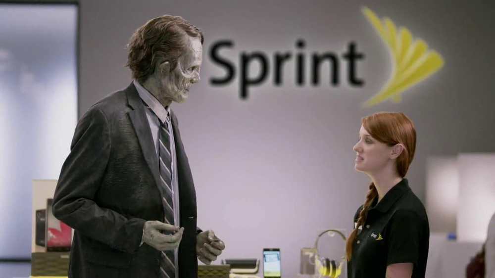 Sprint Unlimited, My Way TV Spot, 'Zombie' - Screenshot 4