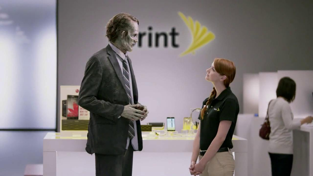 Sprint Unlimited, My Way TV Spot, 'Zombie' - Screenshot 6