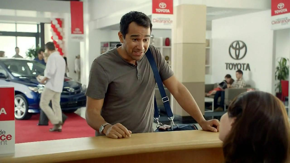 Toyota Clearance Event TV Spot, 'Chameleon' - Screenshot 2