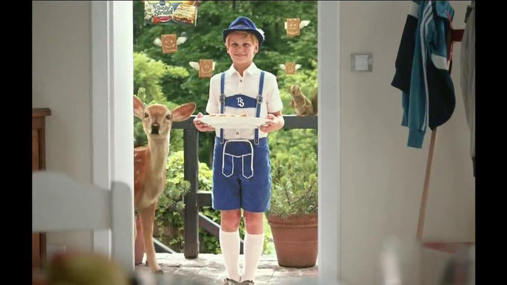 Pillsbury Toaster Strudel TV Spot, 'Door Kick with Hans Strudel' - Screenshot 3