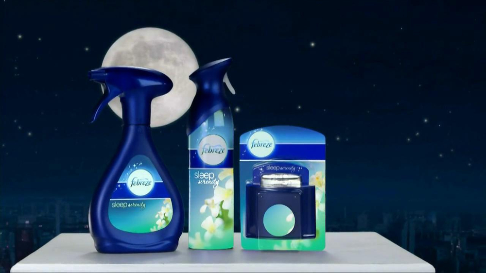 Febreze Sleep Serenity TV Spot, 'Lights Out' - Screenshot 9