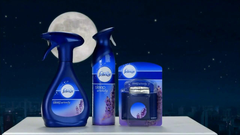 Febreze Sleep Serenity TV Spot, 'Lights Out' - Screenshot 8