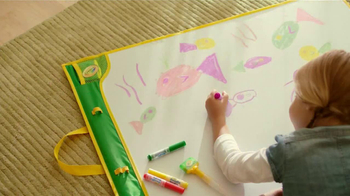 Crayola Doodle Magic Mat TV Spot, 'A Four Year Old and Markers'