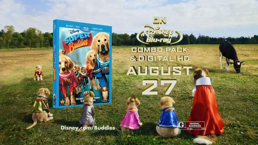 Super Buddies Pictures Super Buddies Blu-ray Combo