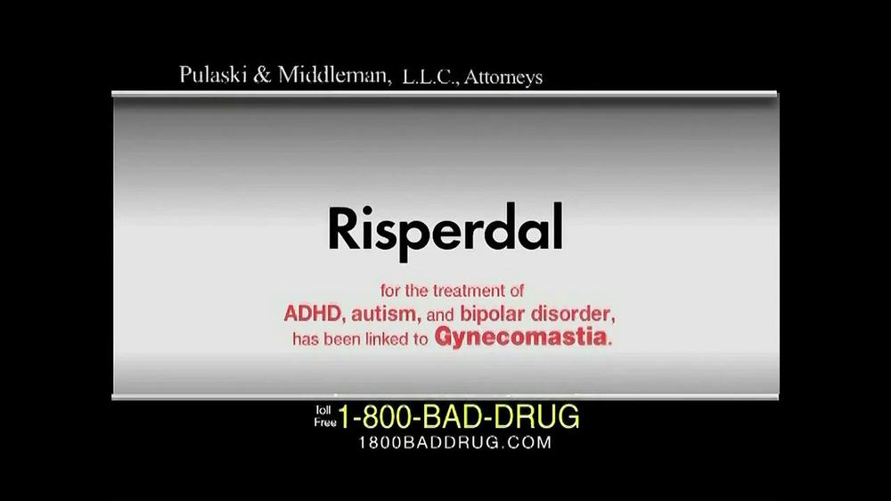 Pulaski Law Firm >> Pulaski & Middleman TV Commercial, 'Risperdal' - iSpot.tv