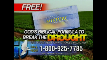 Peter Popoff Ministries Miracle Mixture TV Spot - Thumbnail 3