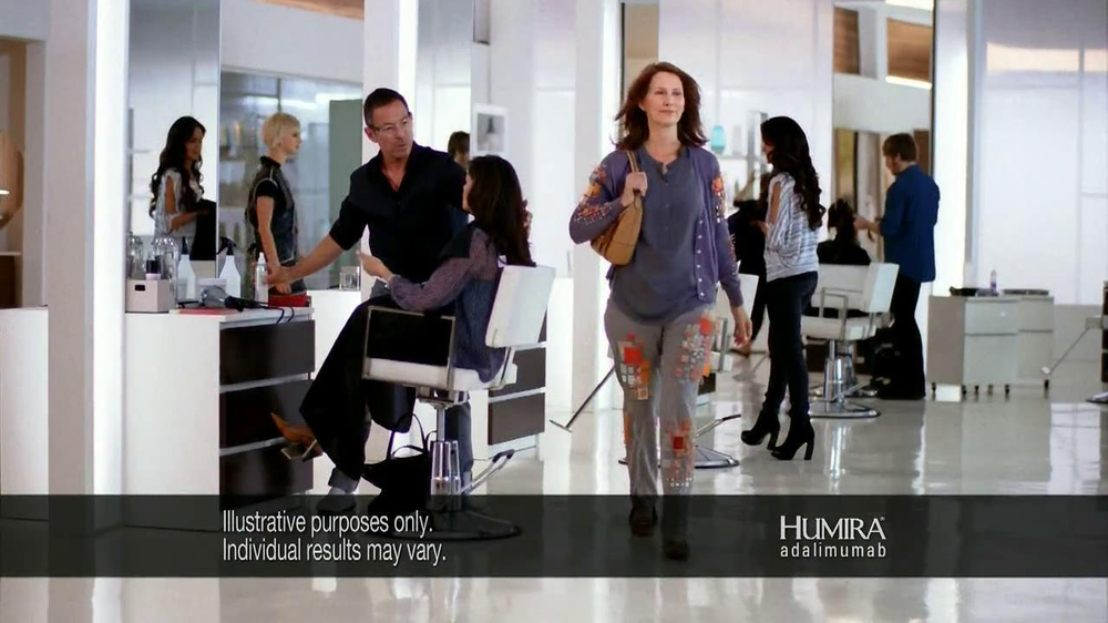 HUMIRA TV Spot, 'Salon' - Screenshot 4