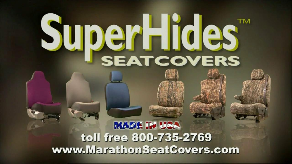 Marathon Seat Covers TV Commercial