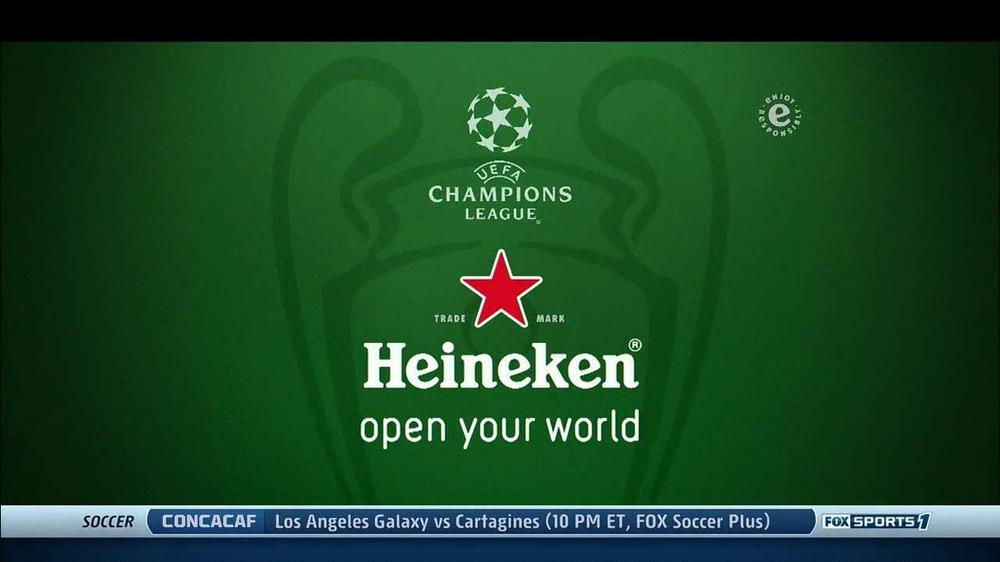Heineken TV Commercial, 'UEFA Champions League' - iSpot.tv