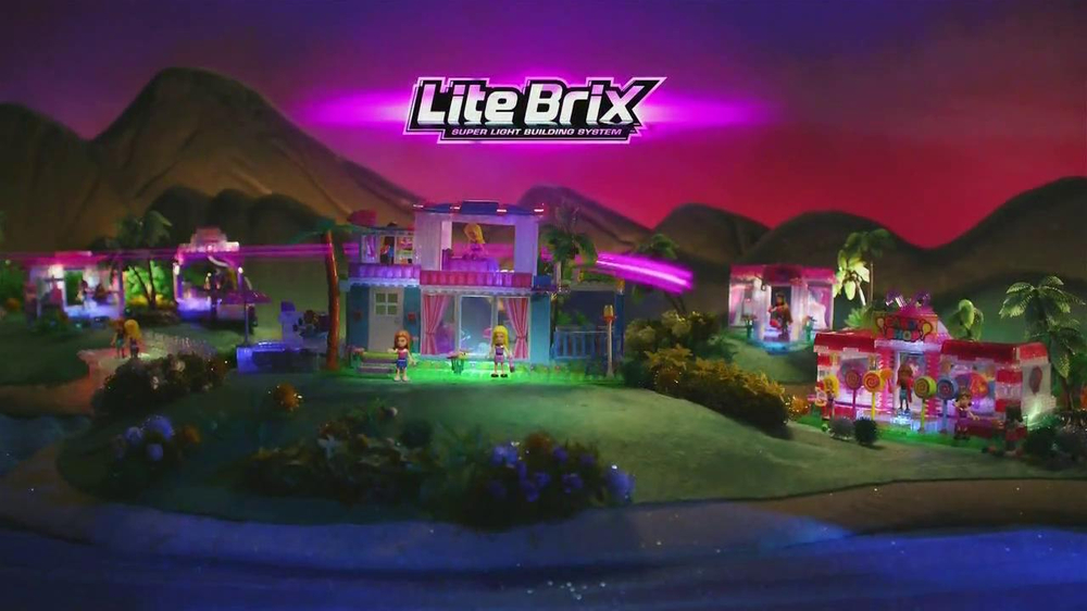 Cra-Z-Art Lite Brix Sunset Island TV Spot - Screenshot 1