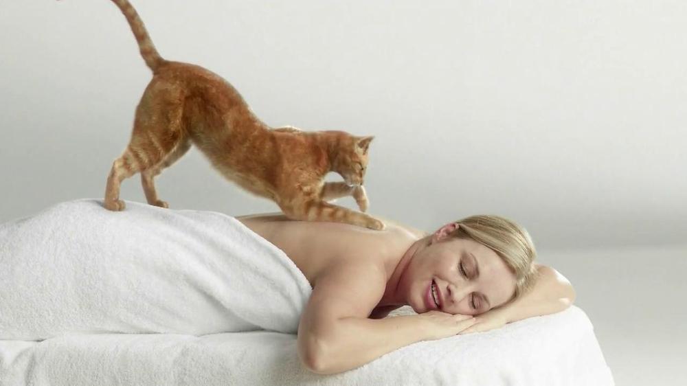 cat 39 s pride fresh light tv spot 39 cat massage 39. Black Bedroom Furniture Sets. Home Design Ideas