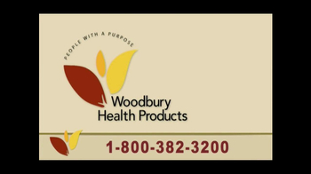 Woodbury Health Products TV Spot - Thumbnail 3