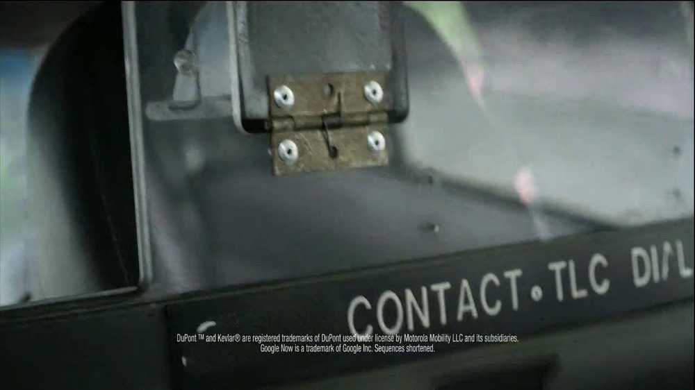 Motorola Droid Ultra TV Spot, 'Episode 1: Rough Ride' - Screenshot 4