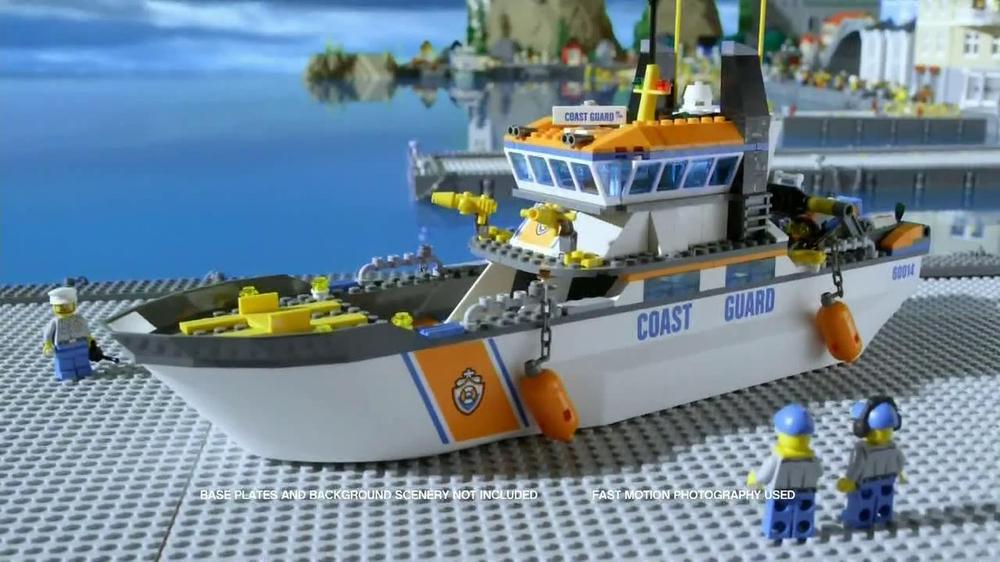 LEGO City Coast Guard TV Spot - iSpot.tv