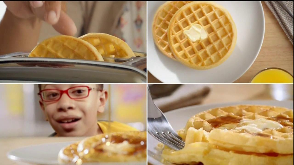 Kellogg's Eggo Waffles TV Spot, 'Picky Eater' - Screenshot 7