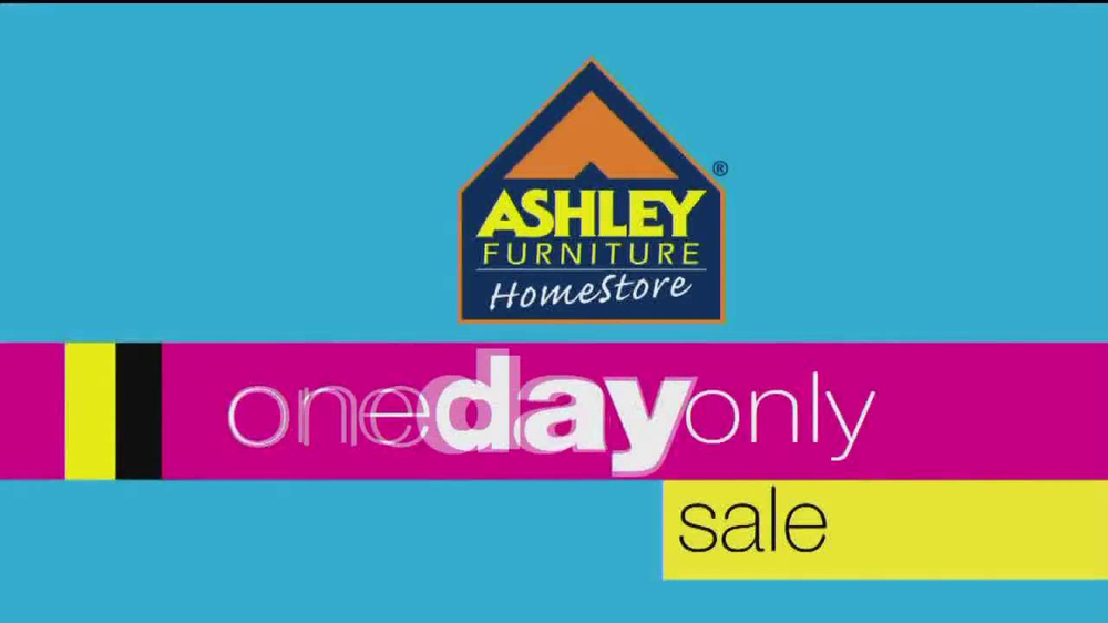 ashley furniture homestore one day sale tv spot