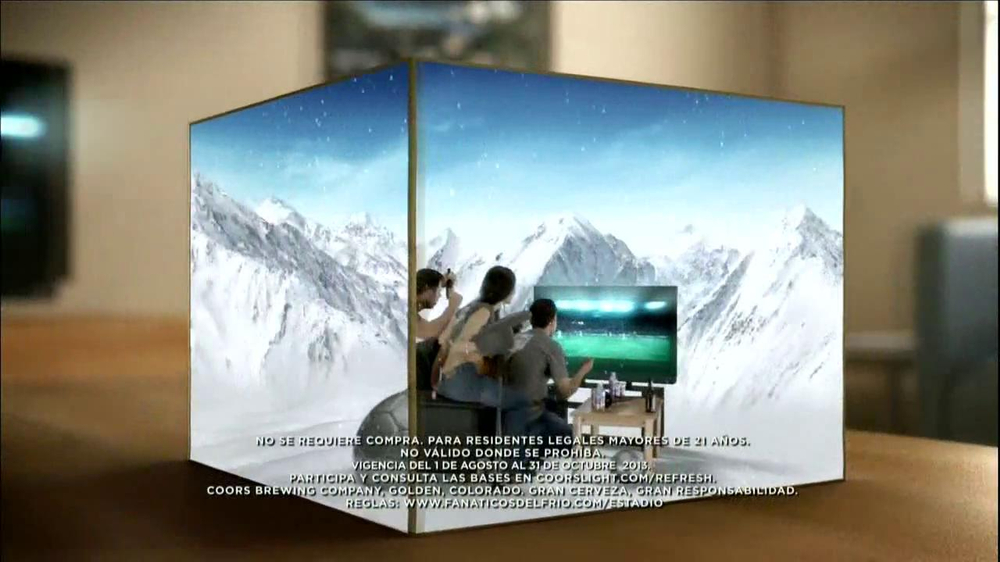 Univision Deportes TV Spot, 'Coors Light' - Screenshot 5