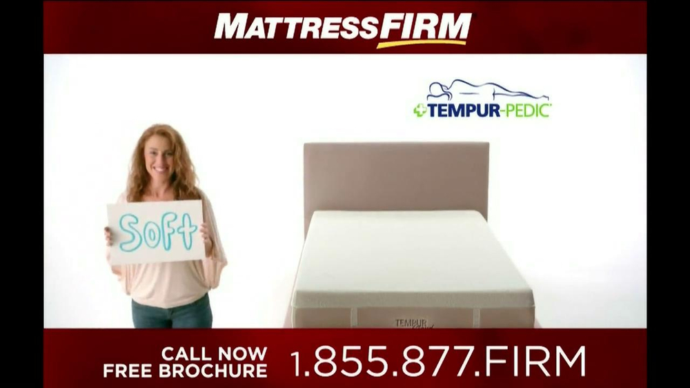 Mattress Firm Tempur-Pedic TV Spot - Screenshot 2