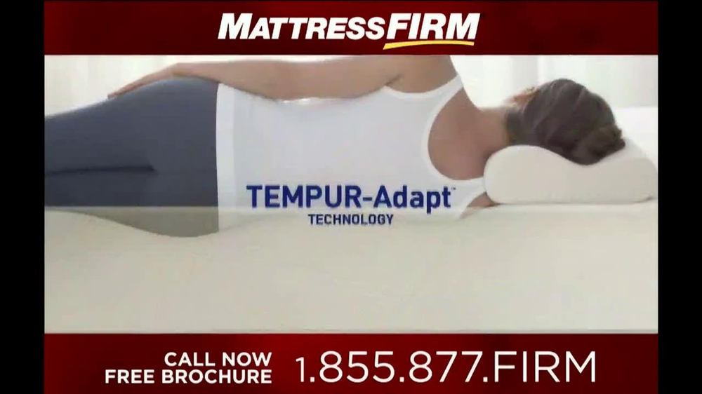 Mattress Firm Tempur-Pedic TV Spot - Screenshot 6