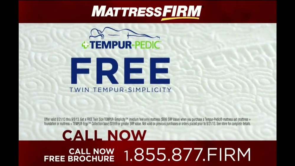 Mattress Firm Tempur-Pedic TV Spot - Screenshot 8