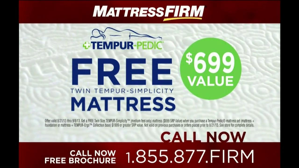 Mattress Firm Tempur-Pedic TV Spot - Screenshot 9