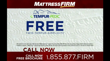 Mattress Firm Tempur-Pedic TV Spot - Thumbnail 8