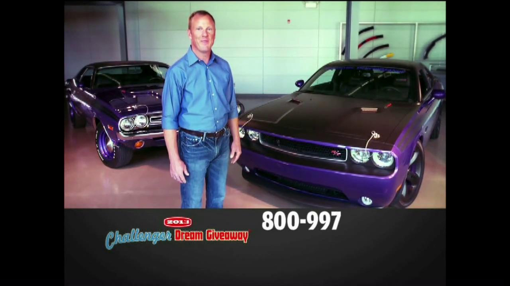 2013 Challenger Dream Giveaway TV Spot - Screenshot 2