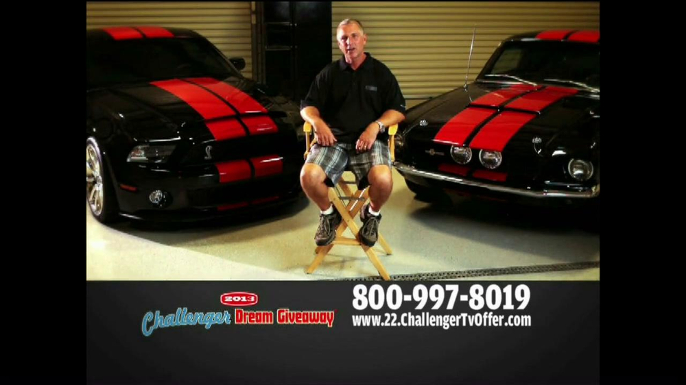 2013 Challenger Dream Giveaway TV Spot - Screenshot 6
