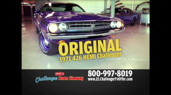 2013 Challenger Dream Giveaway TV Spot - Thumbnail 8