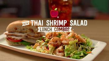 Applebees Thai Shrimp Salad TV Spot, 'Better Choices'