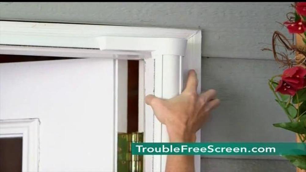 Brisa retractable screen door tv commercial for Brisa retractable screen door
